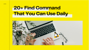 20+ Find command which you can use daily
