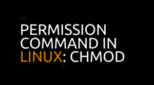 Permission Command in Linux: chmod