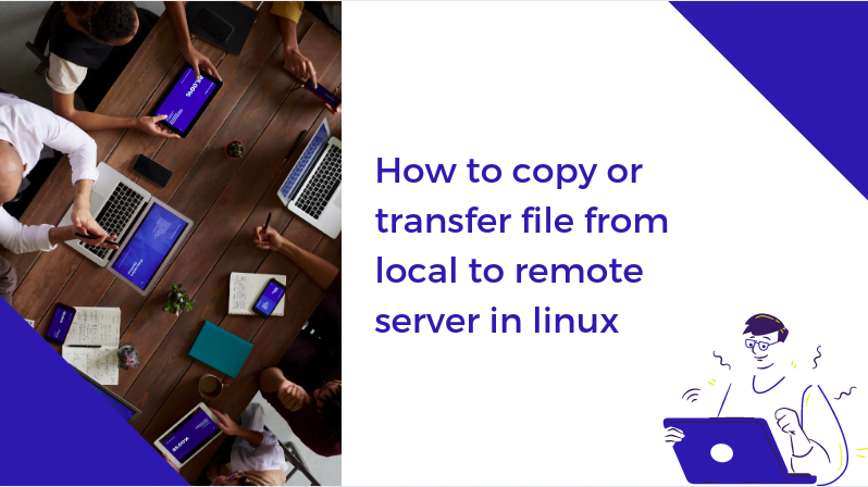 How to copy or transfer file using SCP
