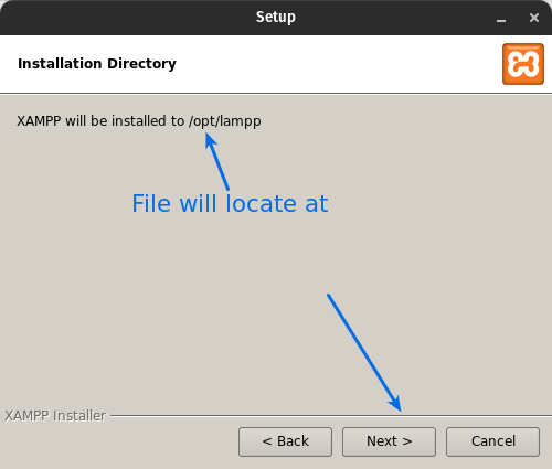 Install XAMPP On Ubuntu File locate at /opt/lamp
