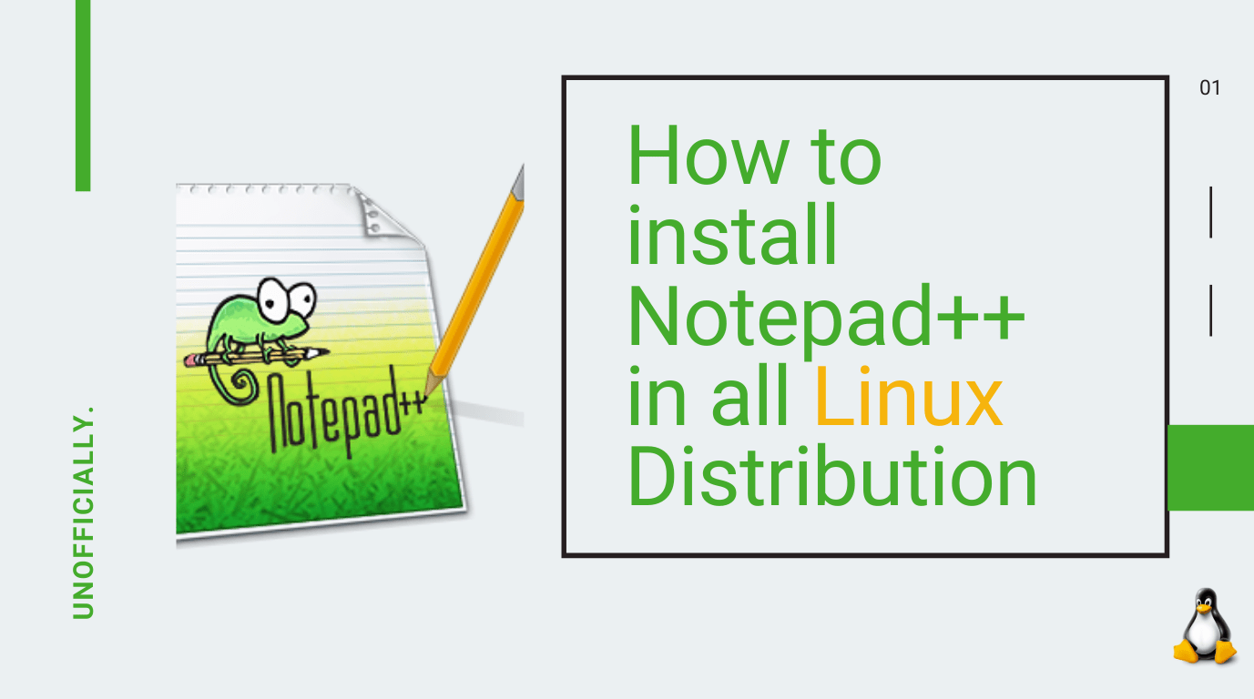 How to install Notepad++ in all Linux Distribution
