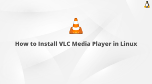 How to Install VLC Media Player in Linux