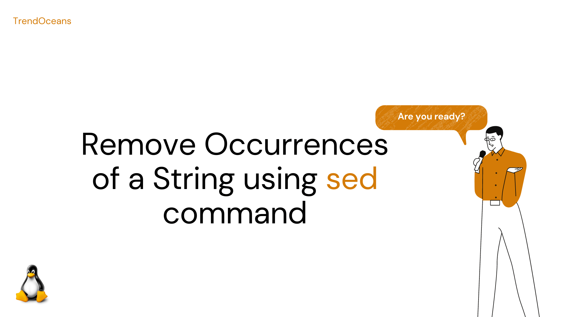 How to Remove Occurrences of a String using sed command