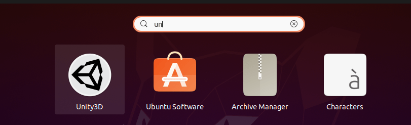 install unity3d on linux and Search Unity3D