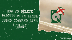 How To Delete Partition In Linux Using Command Line (fdisk)