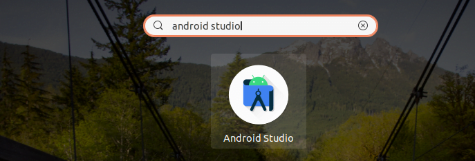 Search Android Studio on Activities