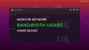 Read more about the article nload – Monitor Network Usage Bandwidth in Linux