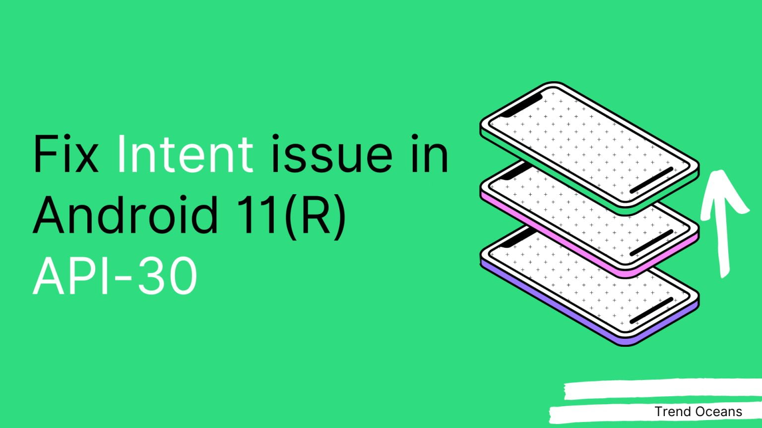 fix intent issue in android 11